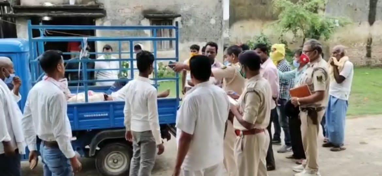 भोजपुर में भीषण सड़क हादसा, चार लोगों की गई जान