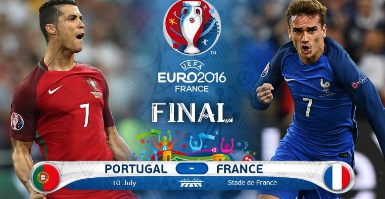 date sunday 10th july 2016 time 2100 cet2000 uk time venue stade de france saint denis tv channels bbc one uk itv 1 uk espn us