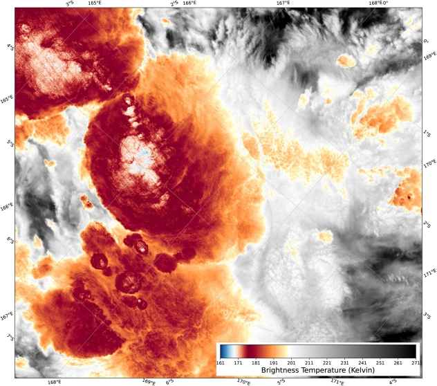 Super-chilled thunderstorm unlike any other ever detected