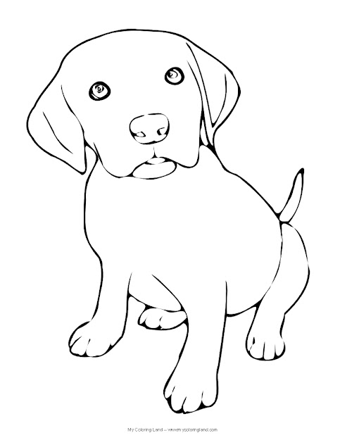 Labrador Retriever Coloring Pages Futpal With The Most Awesome Labrador Coloring  Pages Pertaining To