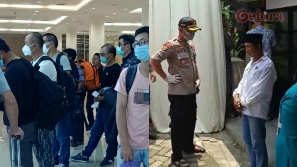 Polri Gagah Bubarkan Pesta Nikah, Tak Berdaya Halau TKA China