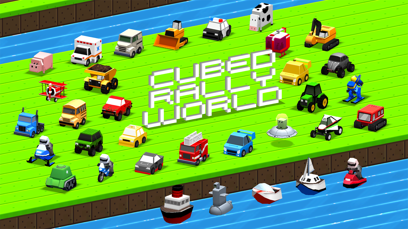 Cubed Rally World- screenshot