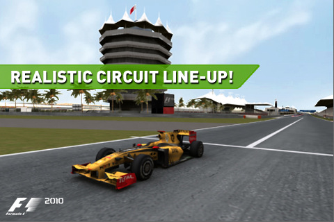 f1%2525202010%252520by%252520codemaster%2525201 The Official Formula 1 2010 Game Now Available For iPhone, iPad And iPod Touch