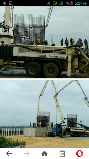 Pictures From The Construction Of The 2nd Niger Bridge