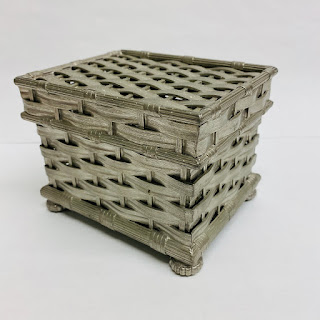 Tiffany & Co. Woven Pewter Basket