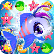 Mermaid Match 3 Puzzle Mania