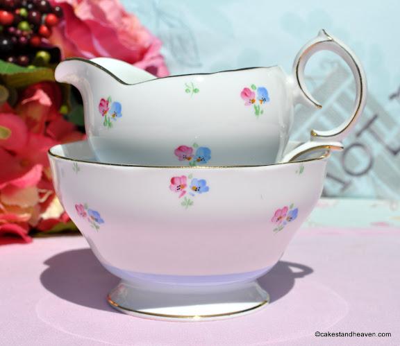 1940s vintage English bone china