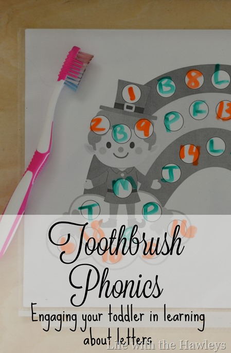 Toothbrush Phonics- Life with the Hawleys