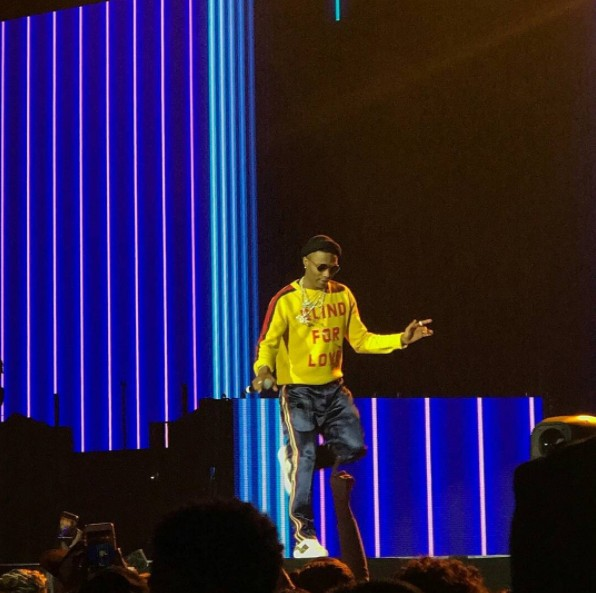 Wizkid Performs At The Future Hndrxx Tour (Photos)