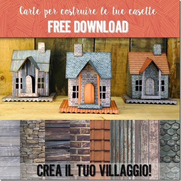 carte stampabili gratis mattoni tegole legno