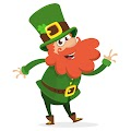Cartoon Funny Leprechaun Style Free Download Vector CDR, AI, EPS and PNG Formats