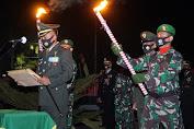 Dandim 0808 Blitar Pimpin Apel Kehormatan Dan Renungan Suci di TMP Raden Wijaya