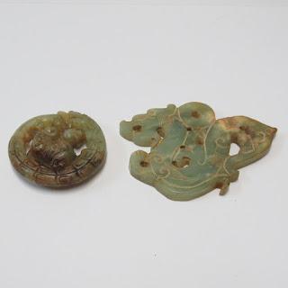 Jade Carving Pair
