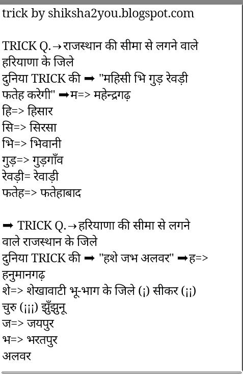 Rajasthan G.k Pdf