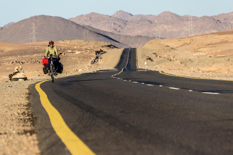 cycling the sahara desert sudan
