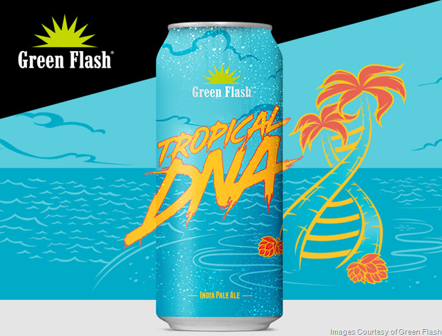 Green Flash Releasing Tropical DNA Cans 6/29