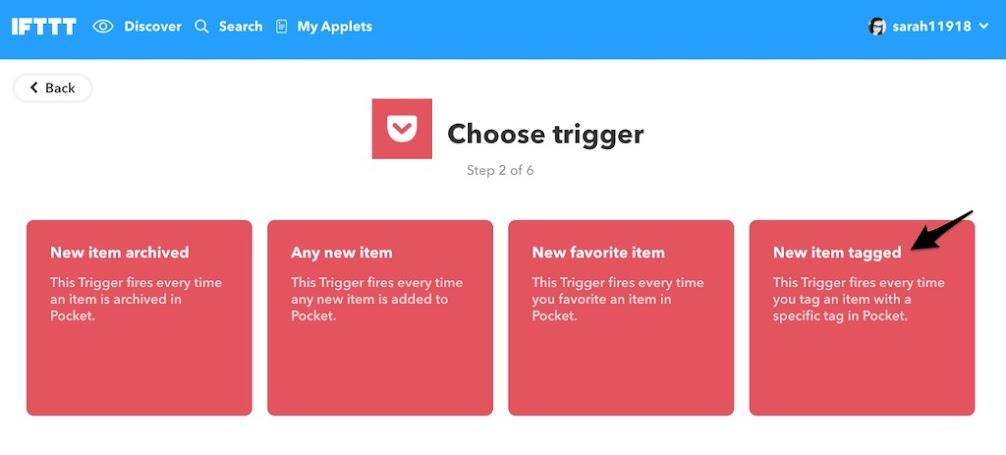 Choose Trigger