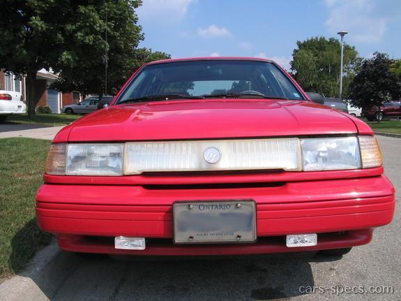 1993 Mercury Topaz Sedan Specifications Pictures Prices