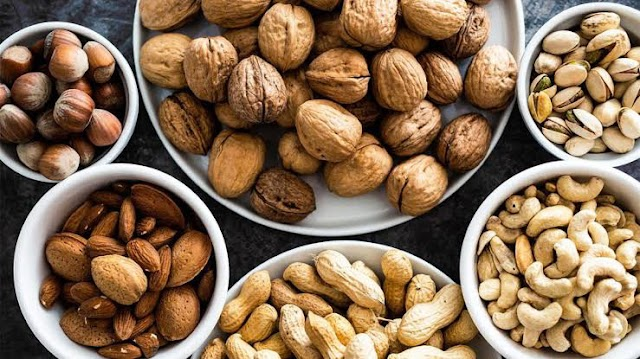 5 most healthy NUTS to eat.