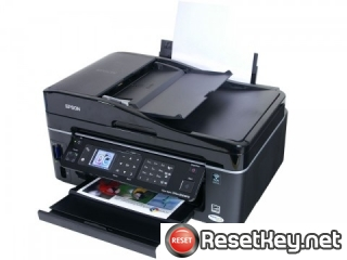 Reset Epson BX610FW printer Waste Ink Pads Counter