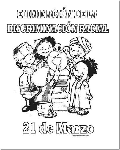 eliminacion discriminacion recial jugarycolorear (1)