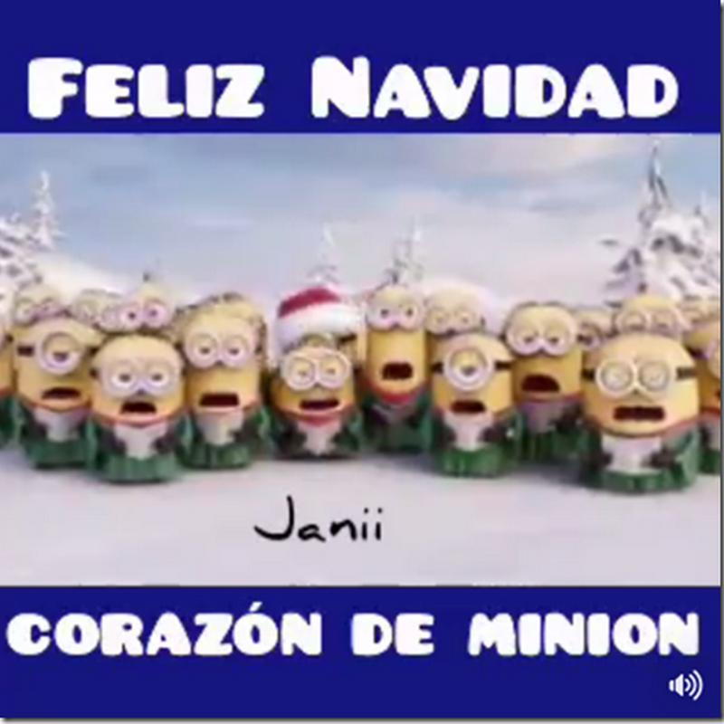 Feliz Navidad humor minions