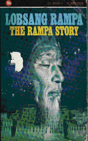 Cover of Tuesday Lobsang Rampa's Book The Rampa Story