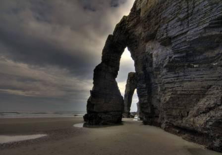 playa de las catedrales temporal