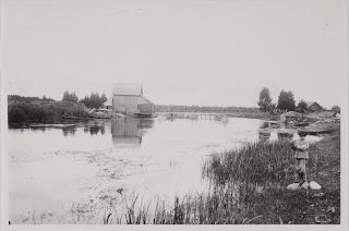Водяная мельница в Коколках1926 г.(из собрания Эстонского Национального музеяERM Fk 1394:220)