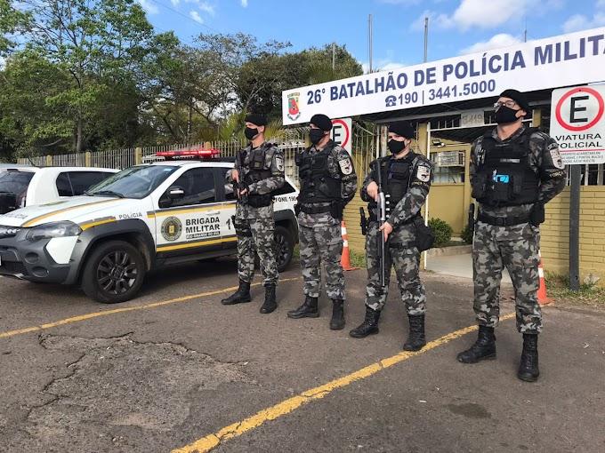 CACHOEIRINHA | Brigada Militar registra queda nos indicadores criminais no ano de 2021