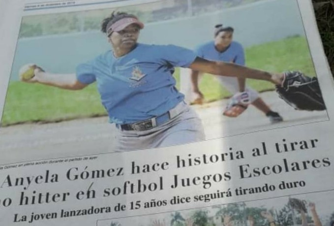 El softbol femenino de la Regional 01 de Educación invicto en los juegos escolares