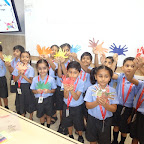 (Grade I & II) Activity on Friendship Day,Hand Print at WIS Pawan Baug (Primary Section)