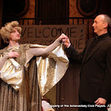 Paul Dedrick and Mark Stephens in LEADING LADIES - October 2011.  Property of The Schenectady Civic Players Theater Archive.