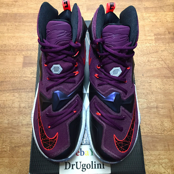 Yet Another Unofficial Look at Nike LeBron XIII Mulberry