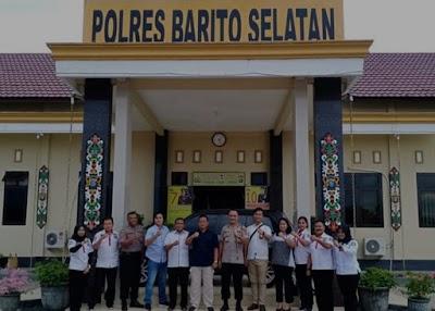 Tim Supervisi Ditreskrimum Kunjungi Mapolres Barsel