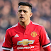 ALEXIS SANCHEZ - on target as Manchester United edge Milan