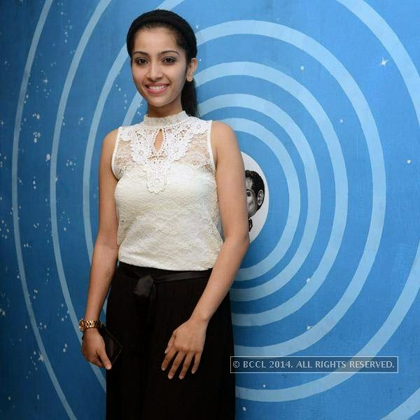 Simar during the launch party of newly opened pub 'Small World' in Chennai.