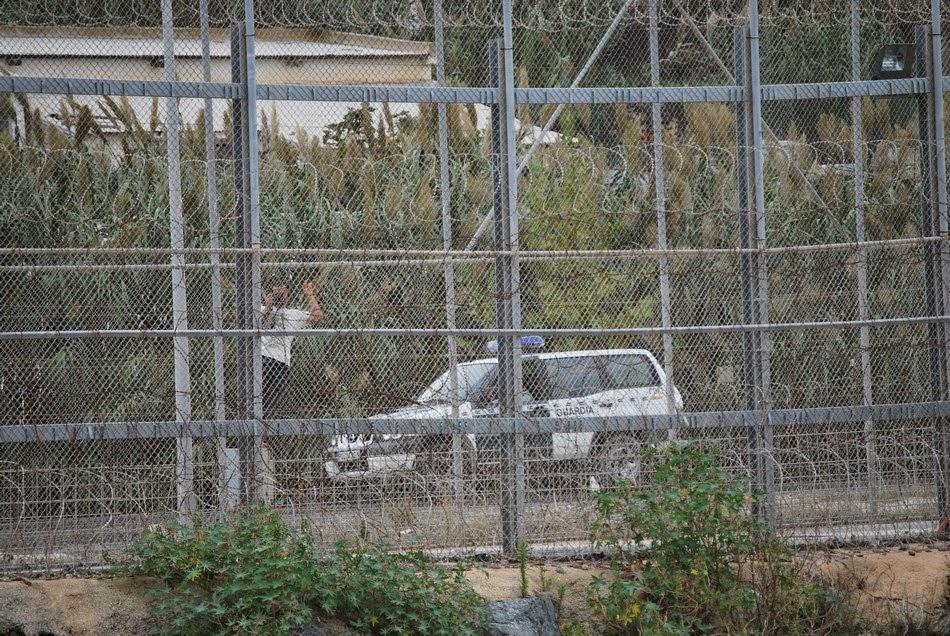 Caravana a la valla de Ceuta 61