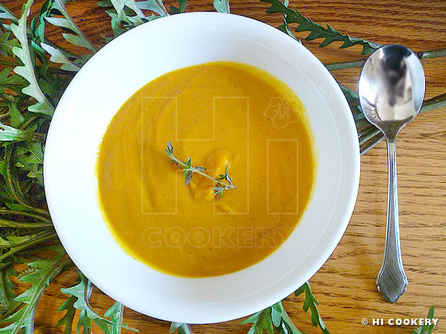 Carrot Sweet Potato Soup