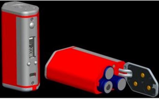 dna200%25255B5%25255D - 【MOD】EVOLV DNA200チップを搭載したハイエンドTHINKVAPE BOX 133 MODと3本バッテリのDNA200 Mod