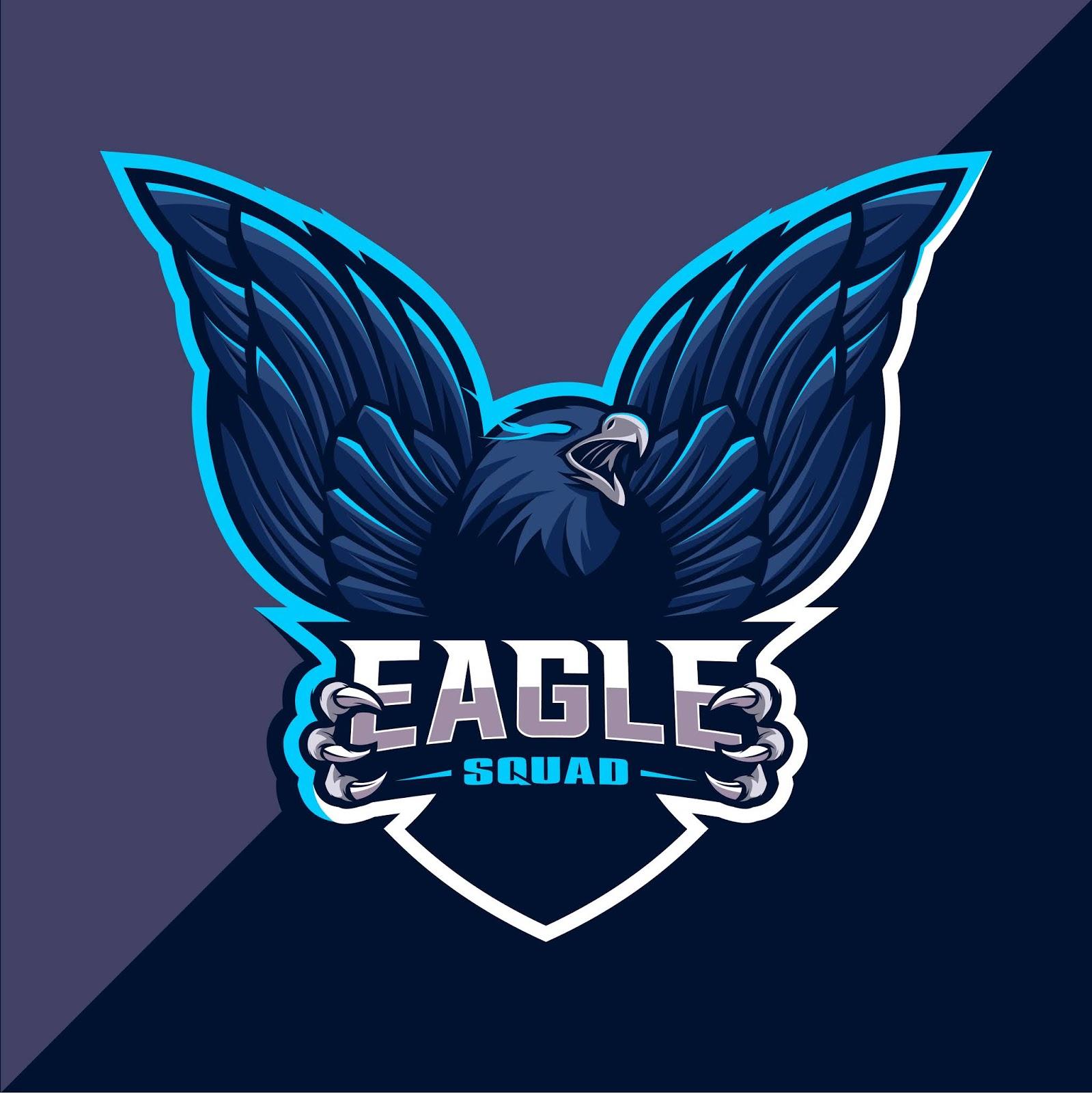 Eagle Mascot Esport Logo Design Free Download Vector CDR, AI, EPS and PNG Formats