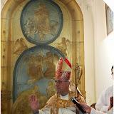 Žehnání  skleněného basreliéfu Nanebevzetí Panny Marie