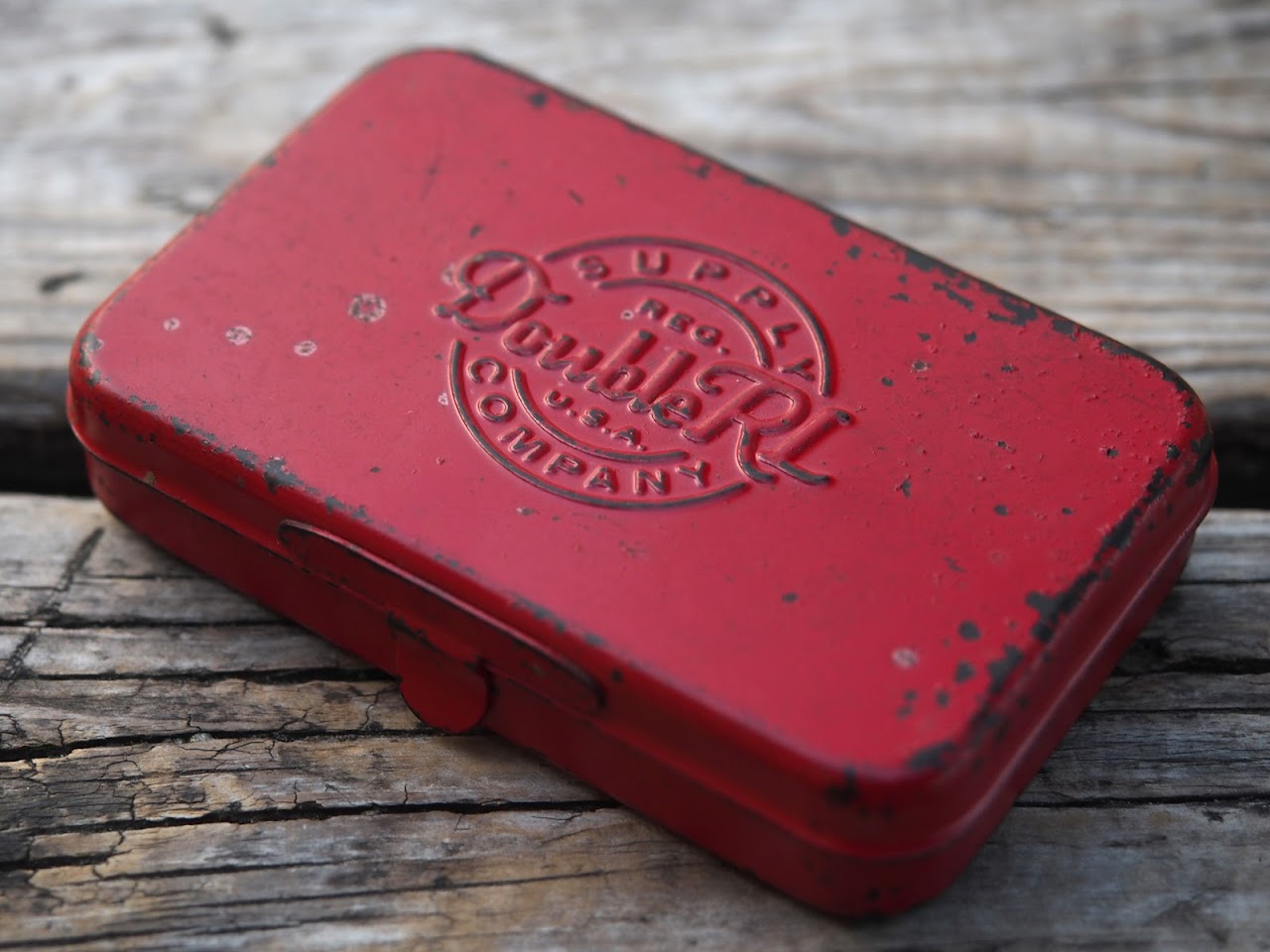 RRL / Enameled Steel Card Case