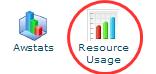 Tombol resource usage