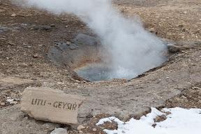 Small geyser