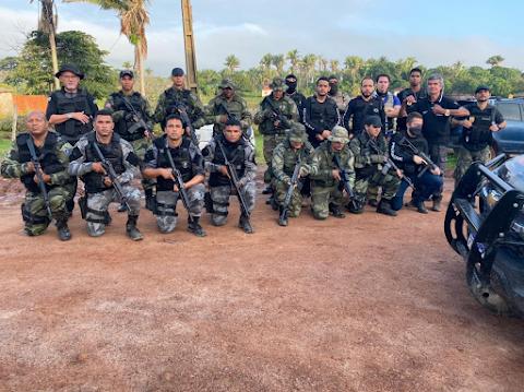 OPERAÇÃO POLICIAL REALIZA PRISÃO E CUMPRE MANDADOS DE BUSCA CONTRA SUSPEITOS DE ASSASINAREM TAXISTA, EM VIANA