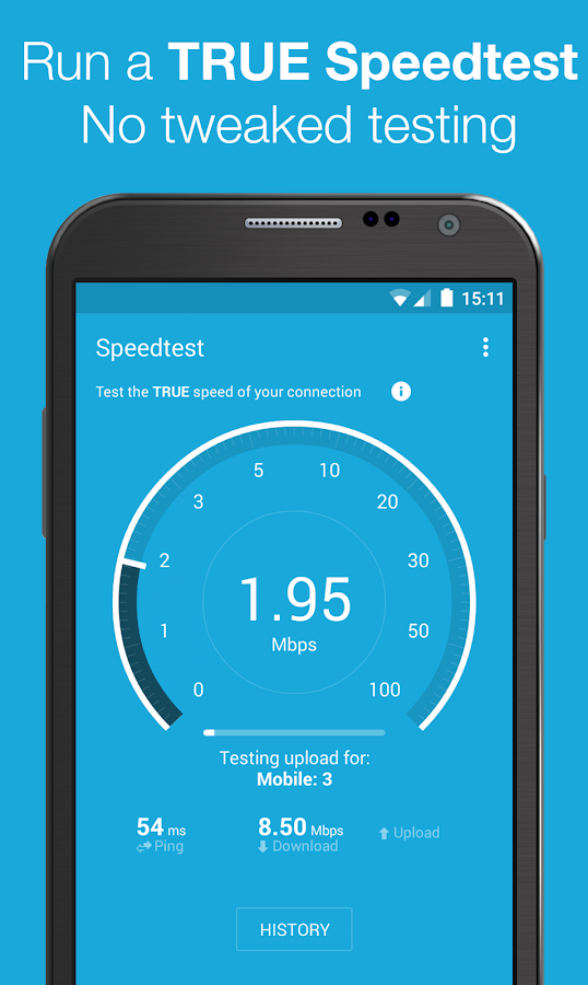 Screenshots of 3G 4G WiFi Maps & Speed Test for iPhone