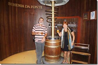 Tour na fábrica da Bohemia