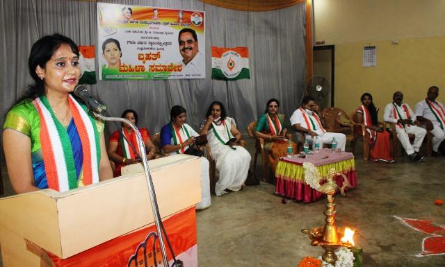 Mahila Congress - ಬಿಜೆಪಿ ಸರ್ಕಾರದಿಂದ ಕಾಂಗ್ರೆಸ್ ಕಾರ್ಯಕ್ರಮಗಳ ಮರುನಾಮಕರಣ: ಮಹಿಳಾ ಕಾಂಗ್ರೆಸ್ ಆರೋಪ
