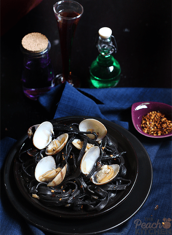 Squid Ink Pasta Vongole